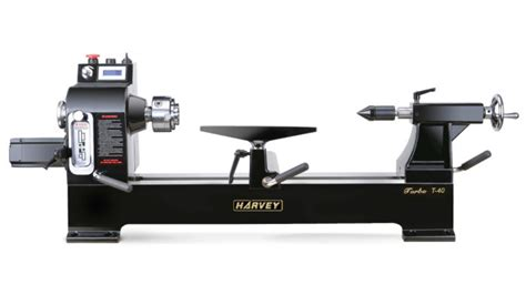 tool review turbo  lathe  harvey finewoodworking