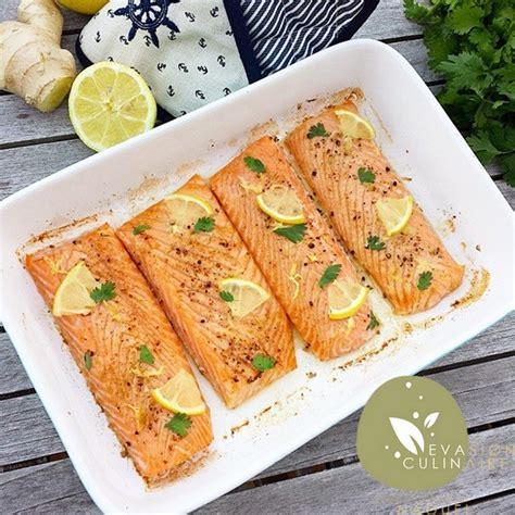 cuisiner citronnelle saumon au citron et gingembre