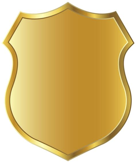 Badge Clip Golden Badge Template Clipart Png Picture Boardes