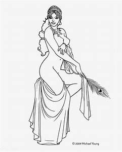 Hera Greek Goddess Drawing Greek goddesses phase 2: ink