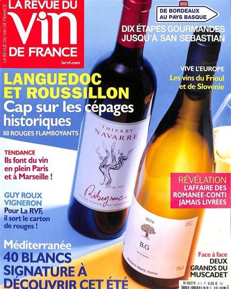 abonnement cuisine et vins de abonnement la revue du vin de intermagazines