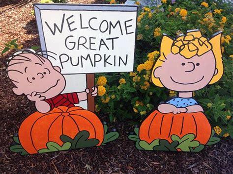 Peanuts Halloween Great Pumpkin Charlie Brown With Linus