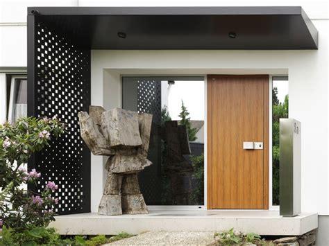 Neue Haustür Mit Vordach