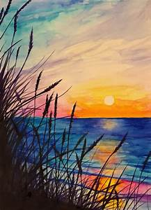 Ocean watercolor painting by RJenningsStudio on Etsy ...