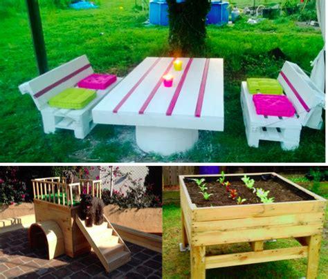 meubles cuisine brico depot 10 idées de créations en palettes pour le jardin des idées