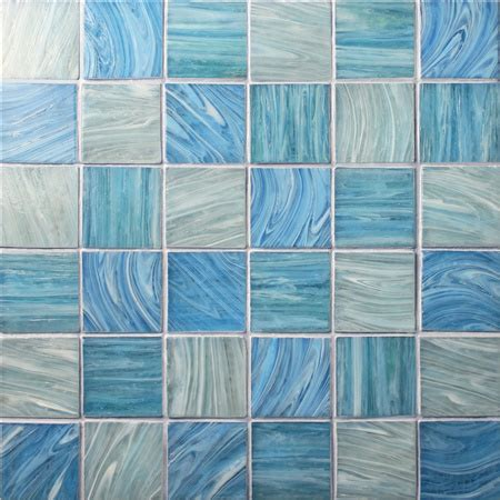iridescent square bgk pool tile pool mosaic glass