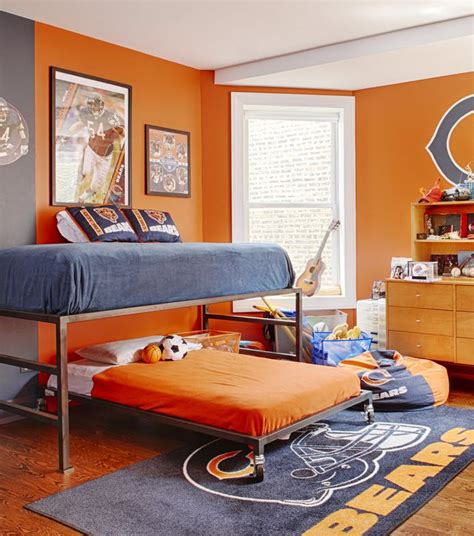 sports bedroom decor how to decorate a fan cave creating a sports themed room 13382