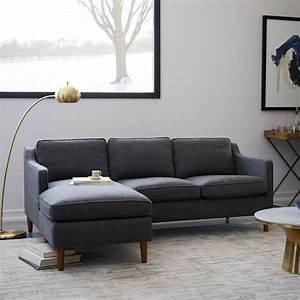 Hamilton 2 piece chaise sectional west elm for Sectional sofa hamilton