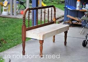 Headboard Bench - 10 Beautiful DIY Benches Lifestyle