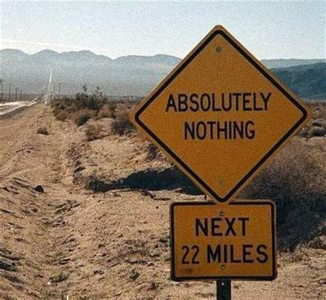 Images Of Nothing Literal Road Signs Pictures This Is The Story Of