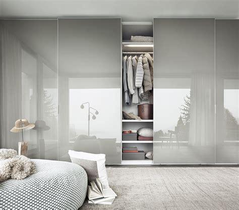 sliding door wardrobe  italian design brand lema
