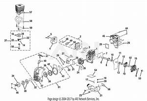 Homelite Ry52004 30cc Gas Pruner  Tp30  Parts Diagram For Engine Assembly
