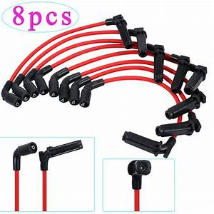 Esynic 8pcs Spark Plug Wires For Chevy  Gmc 1999