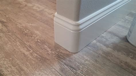 Tips For Installing Baseboard Trim On Hardwood Floors