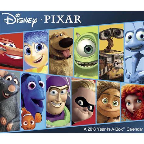 Disney Pixar 2018 Desk Calendar