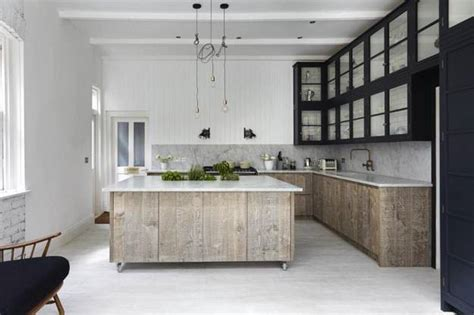 Neutral Colors And Rustic Wood Texture Creating Elegant