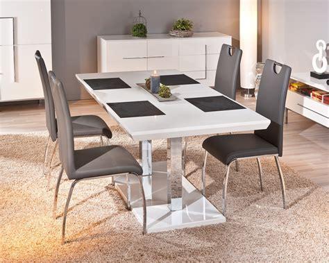 chaises design salle à manger chaise design de salle à manger coloris gris lot de 2