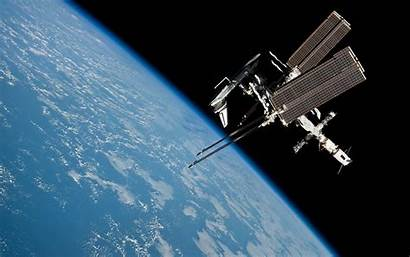 Iss Widescreen Space Nasa Station Wallpapersafari Shuttle