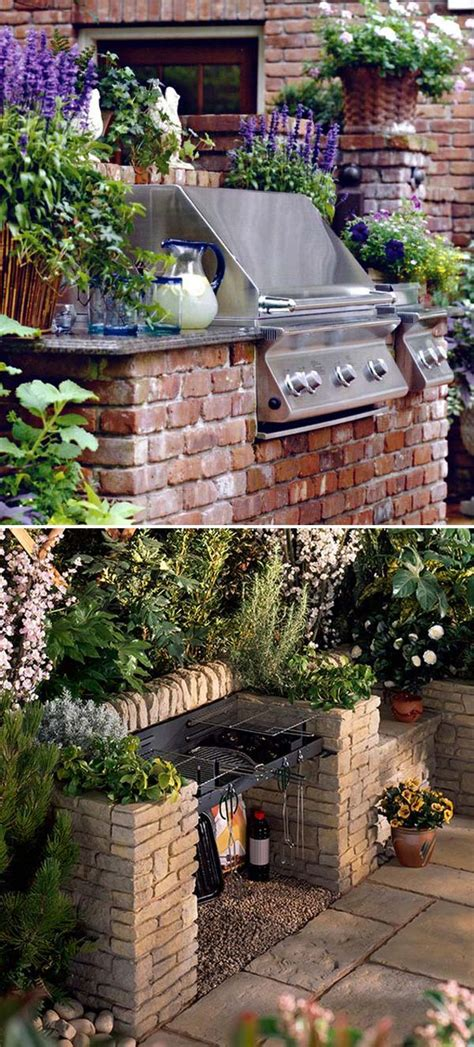 outdoor grill area adding a barbecue grill area to summer yard or patio amazing diy interior home design