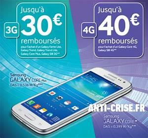 Offre De Remboursement : offre de remboursement 30 40 sur smartphones samsung galaxy ~ Carolinahurricanesstore.com Idées de Décoration