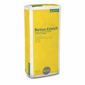 Beton Estrich Berechnen : kemmler be101 beton estrich 30 kg sack k rnung 0 8 mm ~ Watch28wear.com Haus und Dekorationen