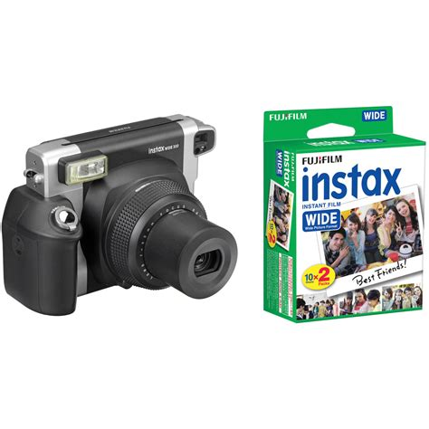 polaroid wide fujifilm instax wide 300 instant with pack of