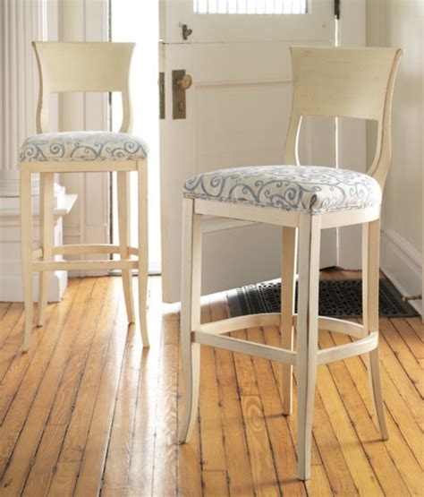 shabby chic bar stools biscayne barstool or counter stool traditional bar stools and counter stools by cottage