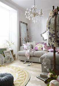 Lovely, Vintage, Living, Room, Ideas, With, Glamour, Furniture