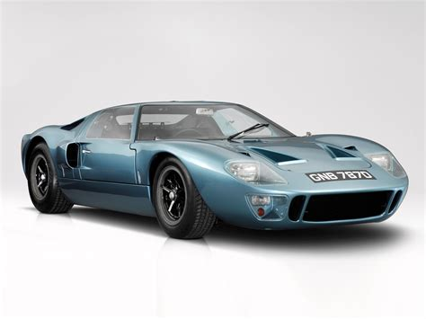 1966 Ford Gt40 Supercar Classic G T Muscle Wallpaper