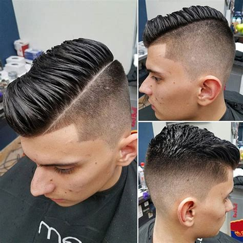 23 Comb Over Fade Haircuts   Men's Hairstyles   Haircuts 2018