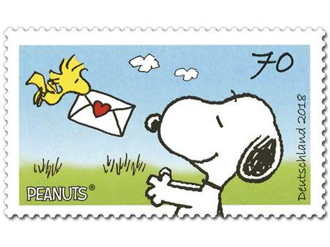 70 cent briefmarke peanuts quot post f 252 r snoopy quot briefmarke zu 0 70 10er bogen shop der deutschen post