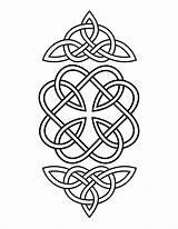 Celtic Coloring Geometric Mandala Coloringhome sketch template