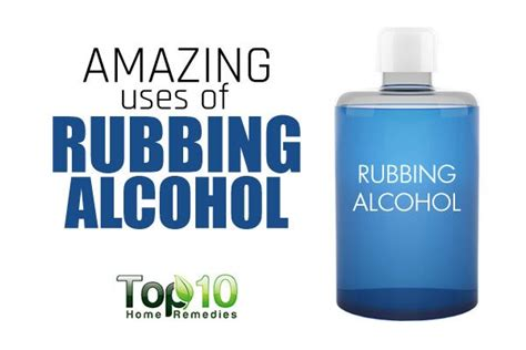 10 Amazing Uses of Rubbing Alcohol | Top 10 Home Remedies