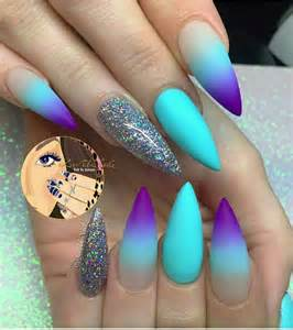 Stiletto nails nail art ideas acrylic designs