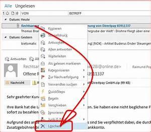 Sflex Rechnung : schadhafte email rechnung von rechtsanwalt direktpay ~ Themetempest.com Abrechnung
