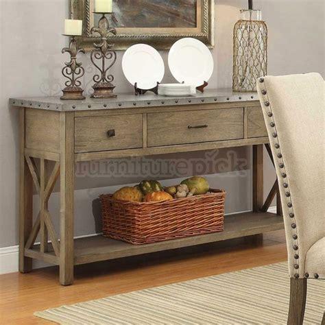 : Dining Room Modern Buffet Long Sideboard Oak Cabinet
