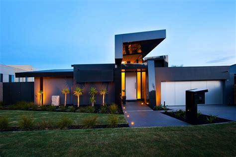 wandana residence modern dream home  black blue