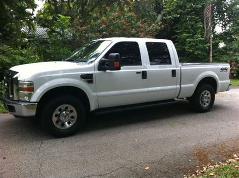 sell   ford  wd crew cab xlt diesel
