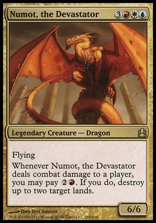 Magic The Gathering Prossh Commander Deck by Numot The Devastator Multiplayer Commander Decklists