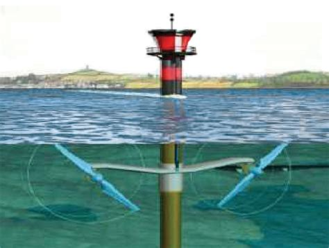 Принципиальная технологическая схема приливной гидроэлектростанции пэс