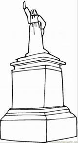 Monument Coloring Pedestal Pages Coloringpages101 Structures Designlooter Printable 6kb sketch template