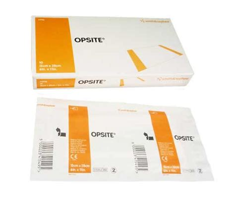 Opsite Incise Drape - opsite incise drape 4987 transparent dressing 11 x 11