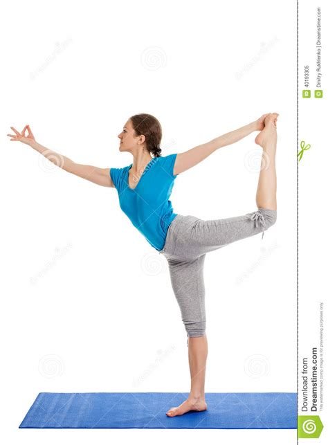 yoga young beautiful woman  yoga asana excerise