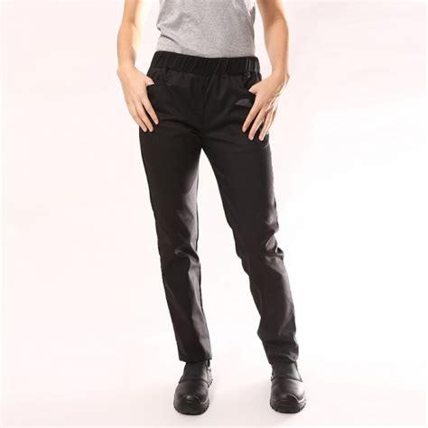 pantalon de cuisine noir pantalon de cuisine femme noir manelli