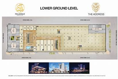 Plan Mall Bahria Shops Town Phase Floor