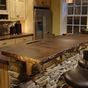 Stained Concrete Countertops on Pinterest Concrete