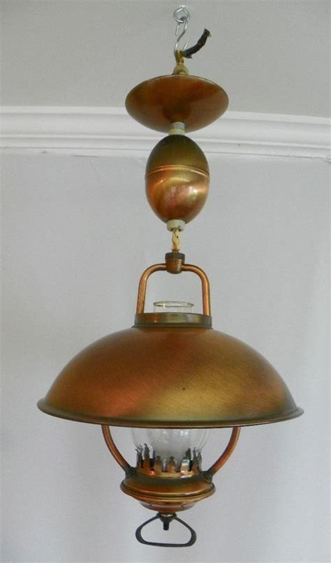 vintage  hanging ceiling light pull