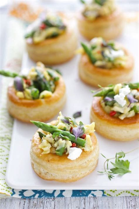 canape hors d oeuvres easter brunch menu omg lifestyle