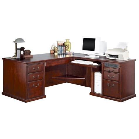 l shaped executive desk with hutch kathy ireland home by martin huntington club rhf l shaped