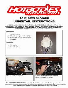 S1000rr Undertail 2012